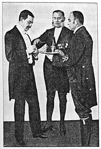 Lackey (manservant) - Image: Der korrekte Diener Fig 4