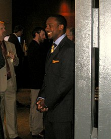 Desmond Howard Michigan Sports Hall of Fame induction 2008.jpg
