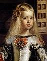 Detail of Margarita in Las Meninas, by Diego Velázquez.jpg
