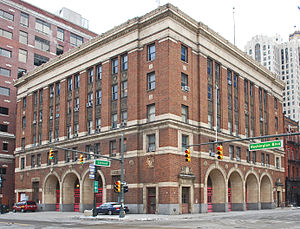 Detroit Fire Department - The former Fire Headquarters at 250 West Larned, in operation until 2013