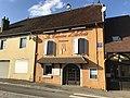 Devanture du restaurant Le Caveau d'Arbois (Arbois, Jura, France).JPG