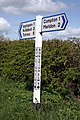 Devon signpost in the sun - geograph.org.uk - 1255150.jpg
