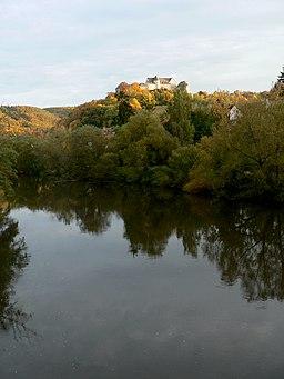 Die Ebernburg im Herbst