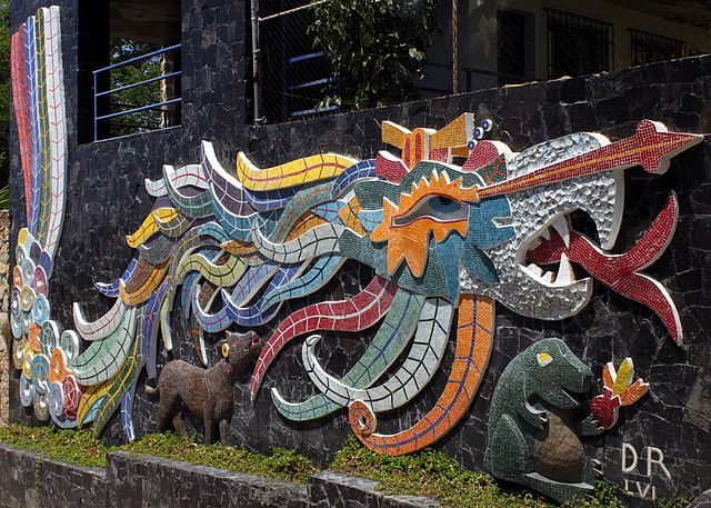 File diego rivera 39 s mural in acapulco for Mural quetzalcoatl