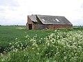 Dilapidated barn, Kirton Middle Fen, Lincs - geograph.org.uk - 172737.jpg