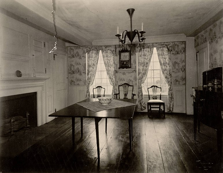 File:Dining Room, Webb House, Wethersfield, Connecticut (3678950222).jpg