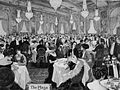 Dinner at the Plaza Hotel, New York 1908.jpg