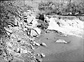 Diversion dam North Fork of Virgin River for diverting water to campground irrigation ditch. ; ZION Museum and Archives Image (68c7ef95203a403da0d4f2e9b948038d).jpg