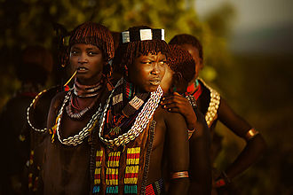 Hamar people - Hamer women, 2012