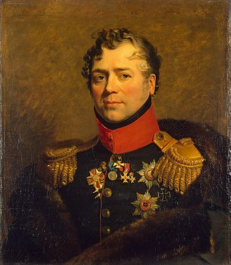 Dmitry Golitsyn - Portrait by George Dawe from the Military Gallery