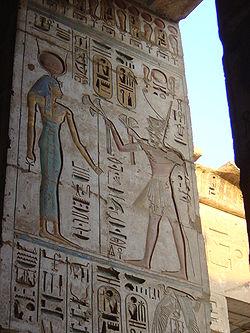 Templo de Ramses III, en Medinet Habu