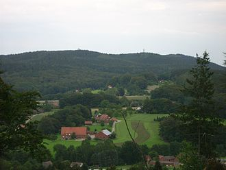 Dörenberg - The summit of Dörenberg