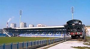 Works team - Image: Dolina cupova Grbavica Stadium 2015