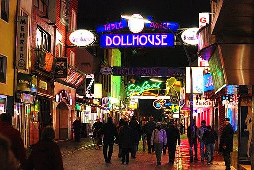 Dollhouse, Große Freiheit in St. Pauli, Hamburg