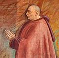 Domenico ghirlandaio e bottega, francesco sassetti nella cappella sassetti, 1482-85 ca. 02.jpg