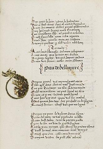 Maldit-comiat - Maldit of Pau de Bellviure