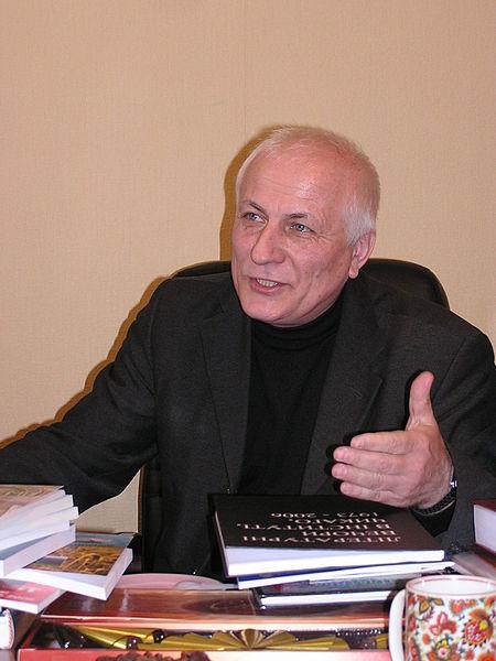 Володимир Білецький на вікізустрічі в Донецьку, 2007 рік