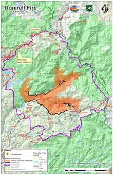 Donnell Fire Wikipedia