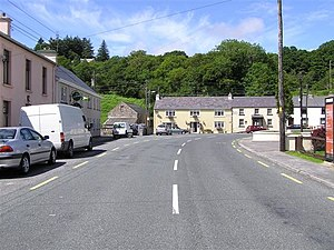 Doochary - Image: Doochary, Co. Donegal geograph.org.uk 500514