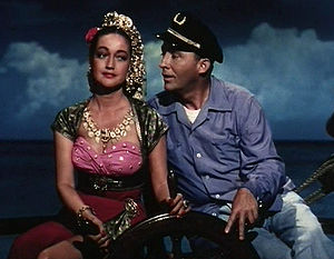 Dorothy Lamour - With Bing Crosby in Road to Bali (1952), a pinnacle after which Lamour's career declined.