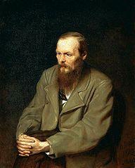 rusischer Dichter Fjodor Michallowitsch Dostievskij