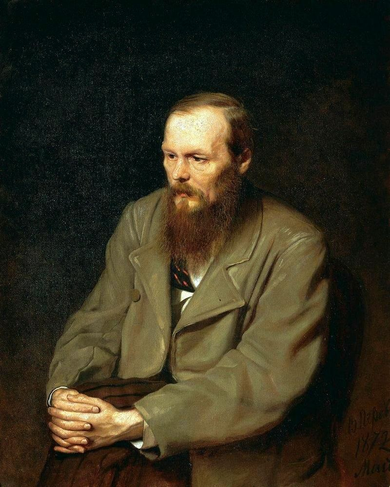 Portret autorstwa Wasilija Pierowa, 1872