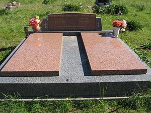 Douglas Nicholls - Grave of Douglas and Gladys Nicholls at Cummeragunja Cemetery