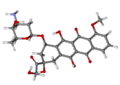 Doxorubicin ball-and-stick.png