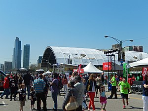 "2015 NFL Draft - ""Draft Town"" in Grant Park"
