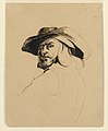 Drawing, Head of a man in the style of Frans Hals, ca. 1860 (CH 18095473).jpg