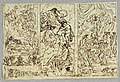 Drawing, Mythological or Biblical Scene; Juno and Jove Enthroned with Three Fates; Three Graces with Apollo and Minerva; Sculptural Relief and Obelisk (CH 18113355).jpg