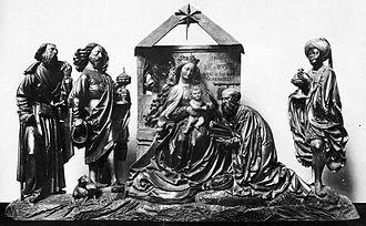 Konrad Stürtzel - Figures of Stürtzel's Three-king-altar (1505)