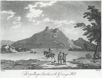 Rhys Gryg - Drysllwyn Castle with Gronger Hill