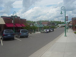 Downtown Moose Lake