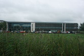 Goodwood plant - Image: Dull weather at Rolls Royce plant, Goodwood. Flickr Supermac 1961