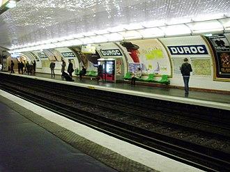Duroc (Paris Métro) - Image: Duroc metro L10 02