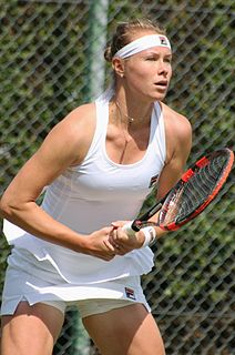 Vera Dushevina Russian tennis player