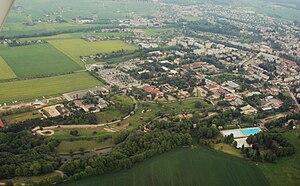 Dvůr Králové Zoo - Air view
