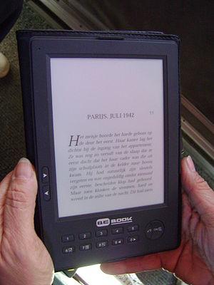 E-reader - A BEBook e-reader