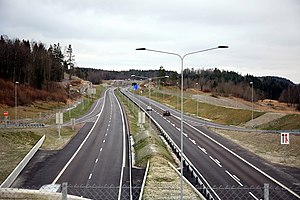 Norwegian Public Roads Administration - Image: E18 Vestfold Undrumsdal