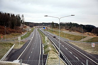 Norwegian Public Roads Administration - Image: E18 Vestfold Undrumsdal