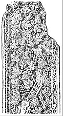 file eb1911 roman art pilaster with oak leaf ornament jpg wikimedia commons oak leaf ornament jpg wikimedia commons
