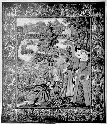 EB1911 Tapestry - fêtes in honour of Henri II. and Catherine de Medicis.jpg