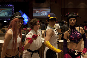 Evolution Championship Series - Street Fighter cosplayers at Evo 2011