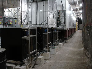 Waste Isolation Pilot Plant - Cleanrooms for EXO installed in a tunnel at WIPP