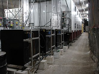 Enriched Xenon Observatory - Image: EXO underground laboratory