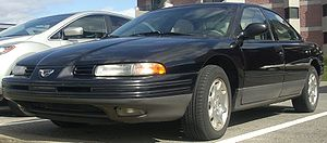 Eagle Vision - 1993–1997 Eagle Vision with grey lower body trim