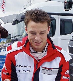 Earl Bamber New Zealand racing driver