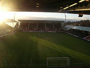 East End Park - Interior of East End Park