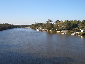 East Hills, New South Wales - Image: East Hills Georges River 1